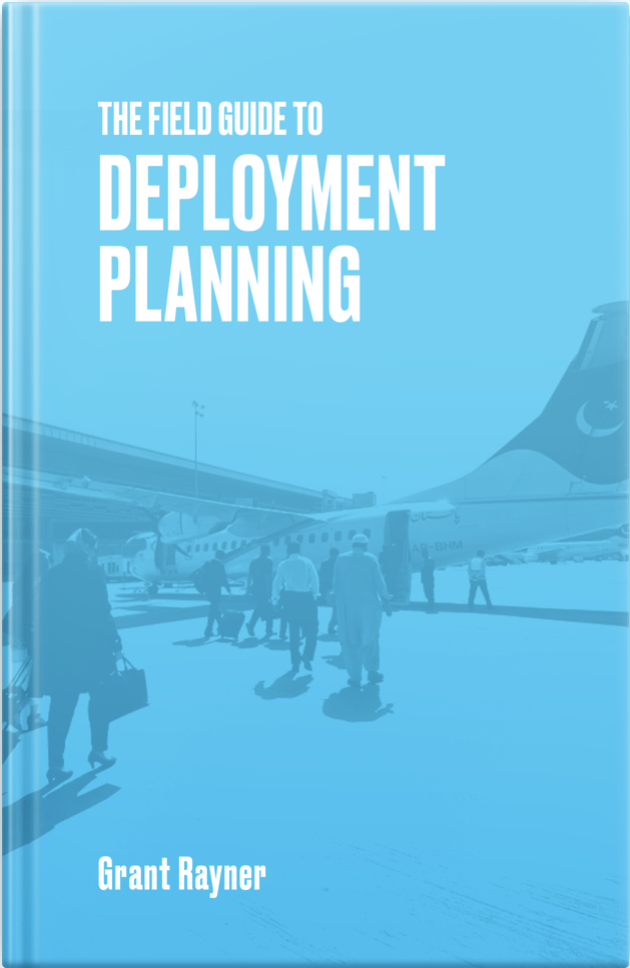 The Field Guide to Deployment Planning